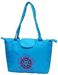 Acacia Flower Printed Ladies Hand Bag