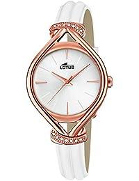 866b63fb604d Lotus Reloj Analógico para Mujer de Cuarzo con Correa en Cuero 18400 1