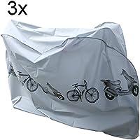 hibuy Juego de 3Funda, resistente al agua bicicleta móvil bicicleta garaje Protección Móvil–Universal bicicleta bicicleta protectora cover 210x 98x 110cm móvil para bicicleta