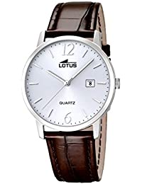 Lotus 18239/3 - Reloj de pulsera hombre, Cuero, color Marrón