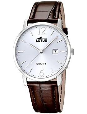 Lotus Herren-Armbanduhr Analog Quarz Leder 18239/3