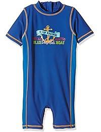 """Aquatinto """"Blue Deep Sea Boat"""", Uv +50 - bañador Niños"""