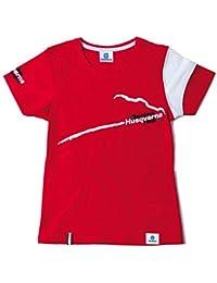 T-shirt pour enfant rouge racing taille l