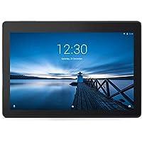 """Lenovo Tab E10 Tablet, Display 10.1"""" HD, Processore Qualcomm, 16 GB Espandibili fino a 128 GB, RAM 2 GB, WiFi, Android Oreo, Slate Black"""