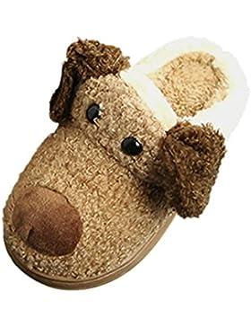 Baby Stiefel, BZLine® Kleinkind Baby Girls Plüsch Soft Hausschuhe Non-Slip warm Schuhe