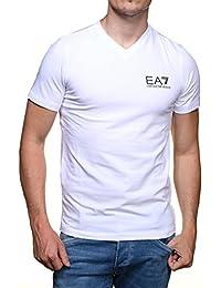 Tee Shirt EA7 Emporio Armani 6XPT53 Blanc 1100