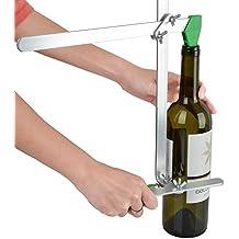 Maquina para cortar botellas de cristal for Cortar cristal para gatera