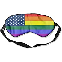 Homosexual American Flag 99% Eyeshade Blinders Sleeping Eye Patch Eye Mask Blindfold For Travel Insomnia Meditation preisvergleich bei billige-tabletten.eu
