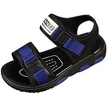 SOMESUN Estate bambini Neonati Sandali da Spiaggia Scarpe Casual Scarpe  Sportive Velcro Sandali Estivi Bambino Fondo f9c9475a61e