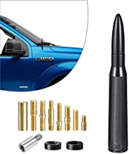 INVICTUS Black Mast Bullet Car Truck Antenna Replacement Compatible with Ford F150 F-150 Raptor King Ranch Lar