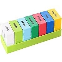 Happy Fd Abnehmbare 7-Tage Wöchentliche Pille-Box mit 28 Tight Locking Fächer Große Kapazität Pille Aufbewahrungsbox... preisvergleich bei billige-tabletten.eu