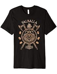 Valhalla Wikinger Wikinger Kompass Wotan Textil tshirt