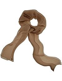 Toutacoo, Women's Silk Muslin Scarf, Made in France