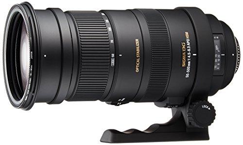 Oferta de Sigma Sigma 50-500mm f4-6.3 APO DG OS HSM NAF - Objetivo para Nikon (Distancia Focal 50-500mm, Apertura f/6.3, estabilizador) Color Negro