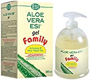 Esi Aloe Vera Gel con olio di Vitamina E e Tea Tree, 500 ml
