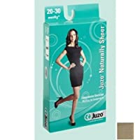 Juzo Naturally Sheer Compression Thigh High w/ Silicone Top Band Open Toe 20-30mmHg, I, Beige by Juzo preisvergleich bei billige-tabletten.eu