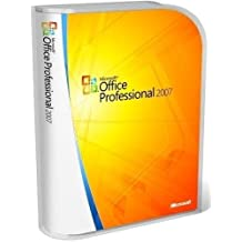 Microsoft Office Basic 2007 / Professional 2007 / Small Business 2007 / Office Home and Student 2007 Master kit (EN) - Suites de programas (1 usuario(s), 2000 MB, 256 MB, Intel Pentium 500MHz, ENG)