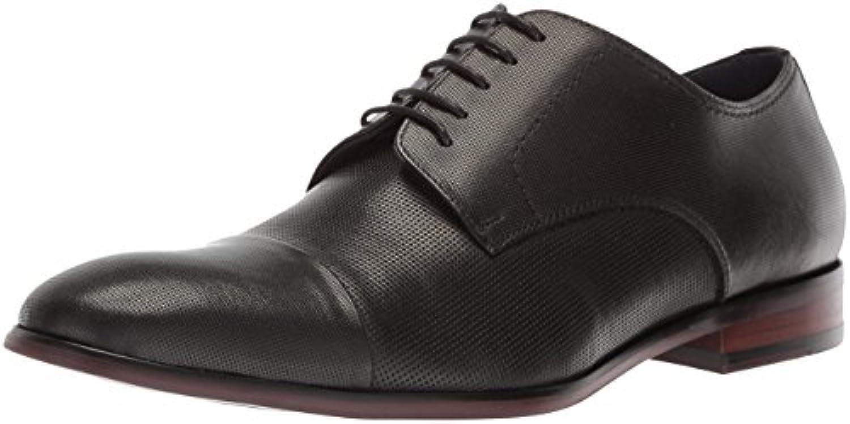 Steve Madden Men's Preston Oxford, nero Leather, Leather, Leather, 13 M US   Funzione speciale    Scolaro/Ragazze Scarpa  c55339