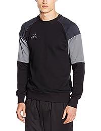 adidas adultos Tiempo Libre Ropa Sudadera Top, todo el año, unisex, color Negro - black/dark grey/Vista grey, tamaño XS