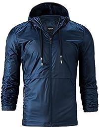 Homebaby Giacca da Uomo Taglie Forti Classico Cappotti Blazer Felpe Elegante  Caldo Impermeabile Giubbini Manica Lunga Camicia Maglia… 88dbd133ed3