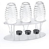 Jelly Comb Porta botella de tendedero con tapa de aleación de aluminio para SodaStream