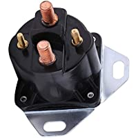 Ford 7.3L PowerStroke Power Stoke Bujía de precalentamiento diesel Reemplazo de relé de solenoide Reemplazo directo Perfect Match - Negro