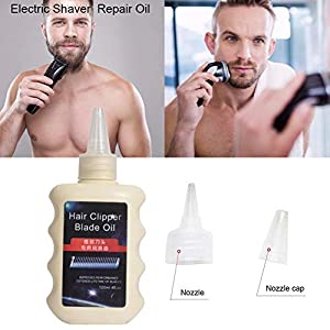 hinffinity Electric Shaver Lubricating Oil, Shaver Repair Oil Hair Clipper Oil Maintenance Lubricant Electric Shaver Repair Maintenance Kit For All Shavers(120 ML)