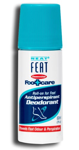 Neat Feat Roll On Antiperspirant For Feet
