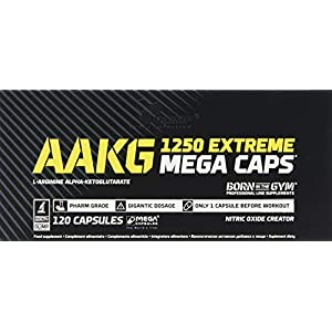 41m 12xKQsL. SS300  - Olimp AAKG Extreme Mega Capsules - Pack of 120 Capsules
