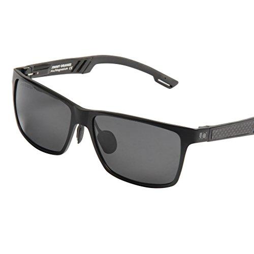 Jimmy Orange JO661 Gafas de sol, lente espejada, montura de aluminio, magnesio,...