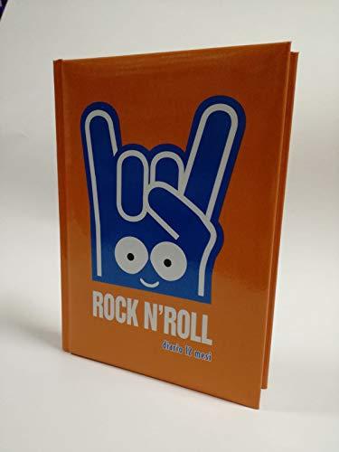 Diario scuola 10 mesi Rock N'Roll 2019 arancione 13x18 cm