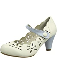 0113d3e3a7e Joe Browns Womens Floral Cut Out Ankle Strap Shoes