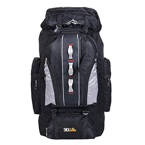 c12c2cd81 TnXan Rucksack Backpack 100L Large Capacity Outdoor Sports Backpack Men and  Women Travel Bag Hiking Camping Climbing Fishing Bags Waterproof Backpacks