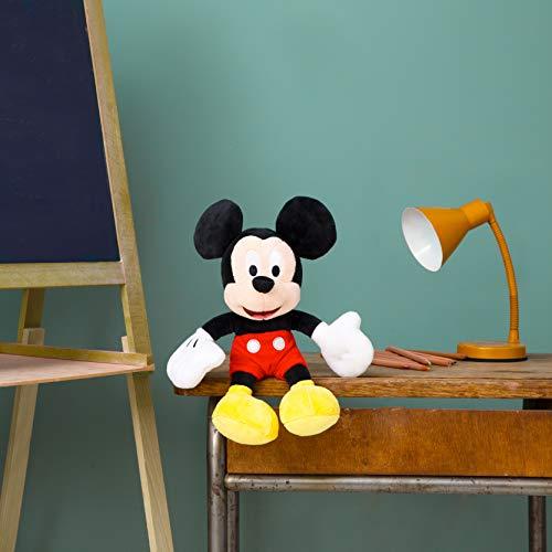 41m 3GPquAL - Simba 6315874842-Disney Peluche, Mickey, 25cm