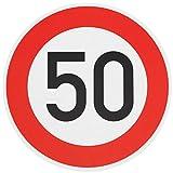 ORIGINAL Verkehrszeichen 50 Geburtstagsschild Verkehrsschild Geburtstag Schild Straßenschild