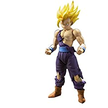Dragon Ball - Super Saiyan Son Gohan, Battle Damage, figura, 12 cm (Bandai BDIDB934024)