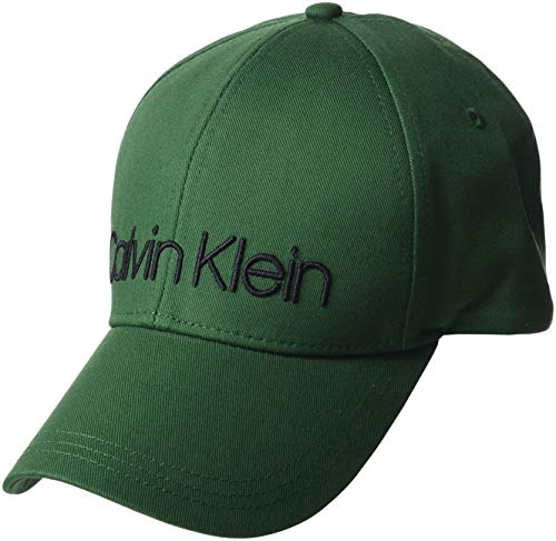 a2295d89c1e Calvin Klein Men s Logo Embroidery Cap M Baseball (Grass Green 312)
