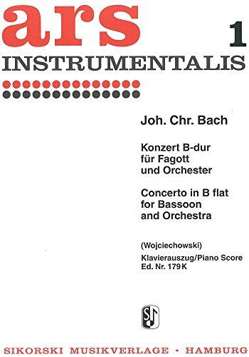 Konzert B-Dur - Fag Orch. Fagott, Klavier