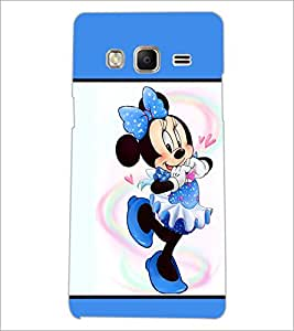 PrintDhaba Minnie Mouse D-1300 Back Case Cover for SAMSUNG Z3 (Multi-Coloured)