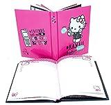 Seven Diario Standard 10M Fucsia Hello Kitty