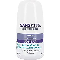 Eau Thermale Jonzac Déodorant Hypoallergénique 24 h 50 ml
