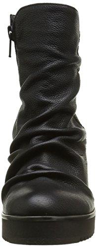 Donna Piu 9922 Lilù, Bottes Classiques Femme Noir (Bufalo Nero)