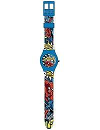 Reloj de pulsera analogico de Spiderman