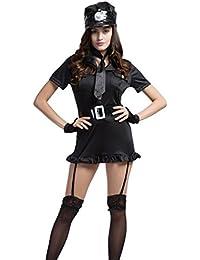 Frauen Polizist Uniform Halloween Kost¨¹m