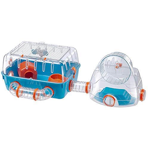 cage hamster plastique