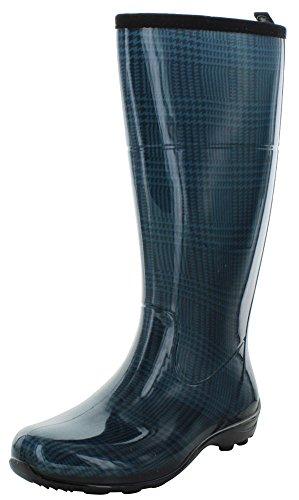 Controlla Kamik stivali da pioggia impermeabile Plaid Donne Fink