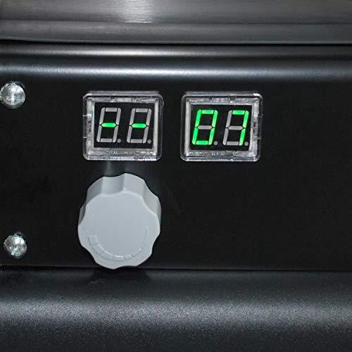 30 KW Edelstahl Automatik Diesel Heizkanone - 6
