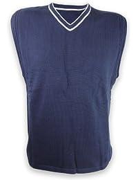 Nike Mens Dri-Fit Top Sleeveless Training Top Vest Navy