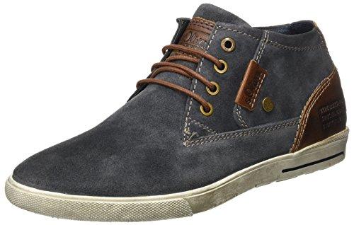 s.Oliver Herren 15200 Sneaker, Blau (Jeans), 43 EU