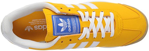 Adidas Samoa Leder Turnschuhe Collegiate Gold/White/Metallic/Gold